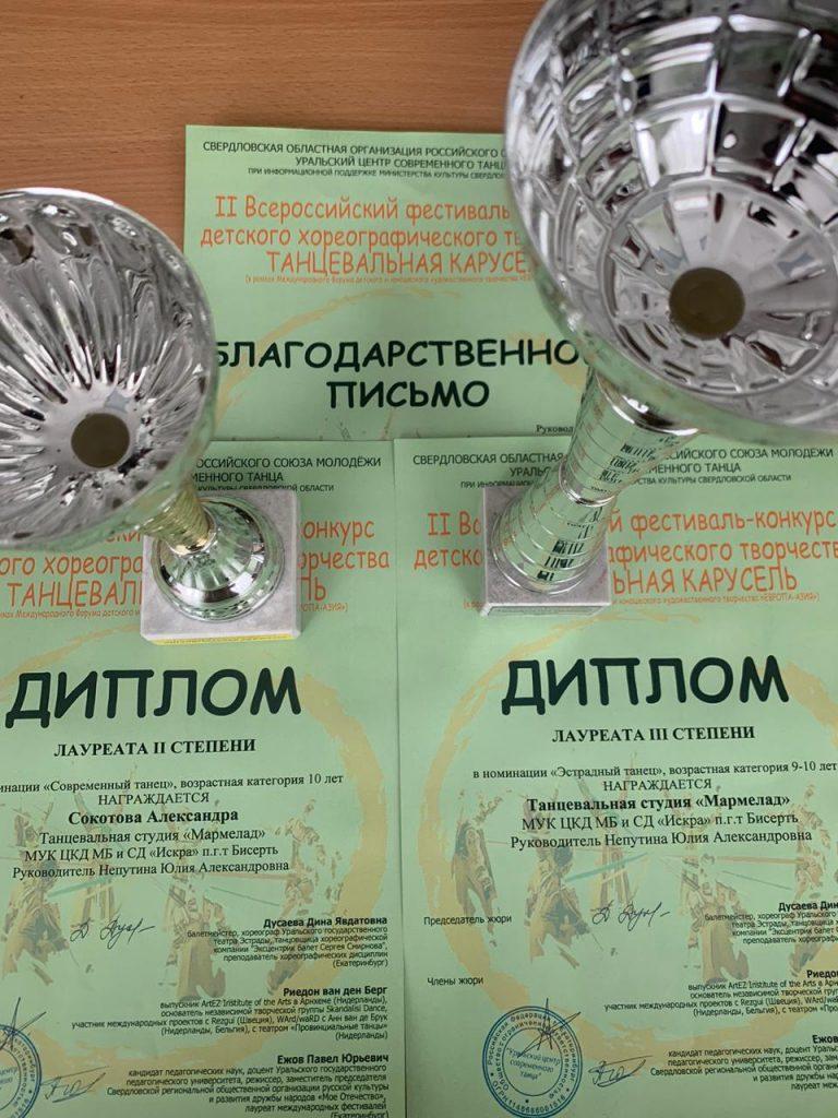 II  Всероссийский фестиваль – конкурс детского хореографического творчества «Танцевальная карусель»