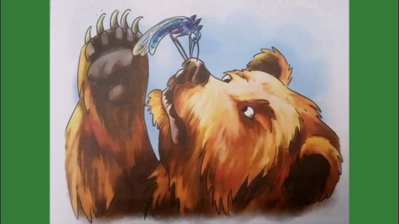 Сказка про Комара Комаровича — длинный нос и мохнатого Мишу — короткий хвост